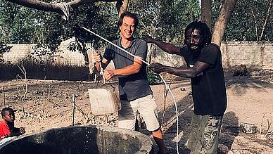 Brunnen Gambia