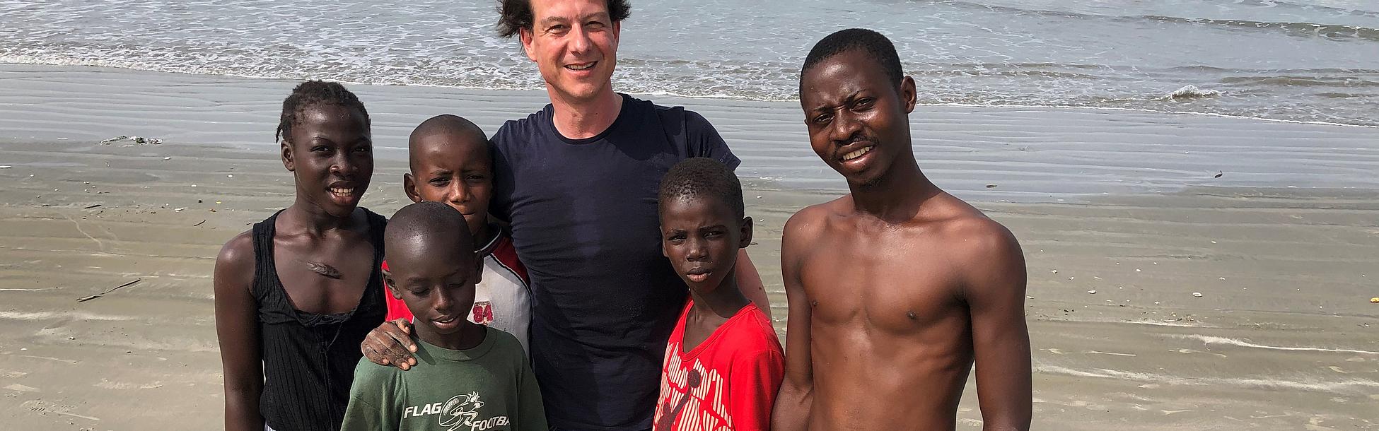Umweltschutz Gambia Kopfbild
